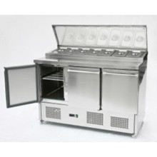 Artikcold PS300 3 Door Pizza Prep Counter